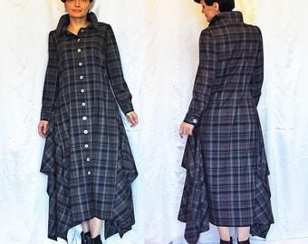 Custom order Dress PlaidPlus size Dress