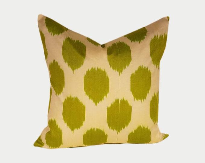 Ikat Pillow, Ikat Pillow Cover NPI119, Ikat throw pillows, Designer pillows, Decorative pillows, Accent pillows