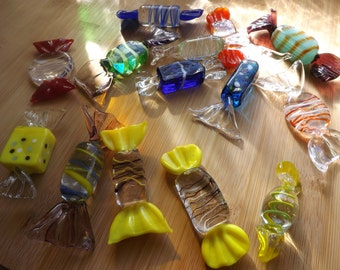 Vintage Murano Glass Candy
