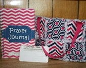Rag Quilt Anchor Bible Bag