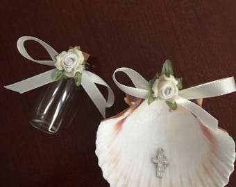 Baptsim Shell, Chistening Shell, Baptims set Shell, Baptism ceremony Shell, holly water Bottle, NARELO