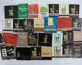 28 Holiday Inn Hotels Matchbooks LOT