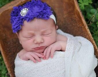 Shabby Chic Baby Headbands, Baby Girl Headbands, Free Shipping