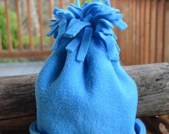 Blue Fleece Hat