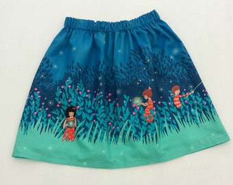Girls Skirt, Wee Wander Skirt, Girls Party Skirt. Summer Clothes, Summer Skirt, Birthday Outfit, Baby Gift, Party Skirt, Girls Clothing