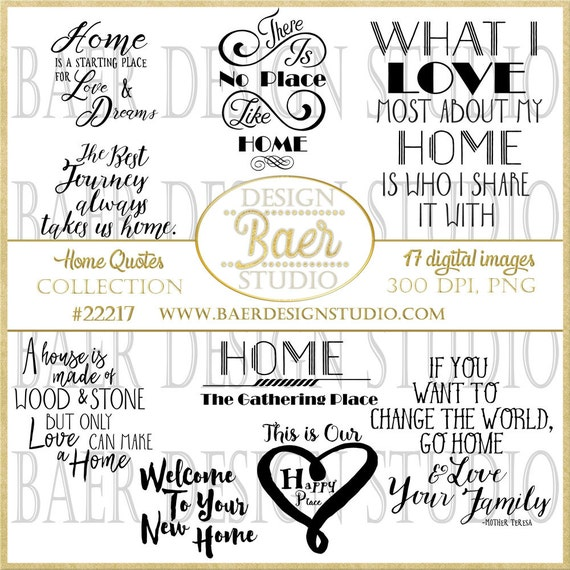 Printable Quotes Home Quotes Inspirational Quotes Clip Art