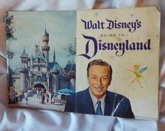Walt Disney's Guide to Disneyland 1958 Vintage Booklet