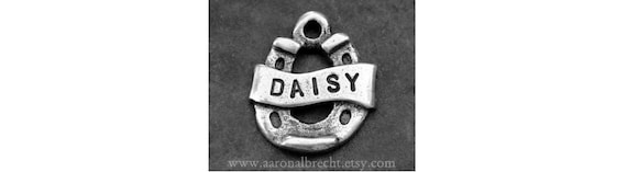 Dog Tag Pet Tag Horseshoe Pet Accessories Dog Identification Tag Hand Stamped