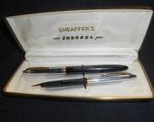 "Easter Special Discount Vintage Original Box Shaeffer ""Snorkel Pen & Mechanical Pencil Set"""