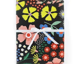 Floral  Wrapping Paper - 3 sheets in collaboration with the House that Lars Built
