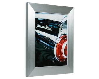 "Craig Frames, 16x20 Inch Modern Silver Picture Frame, Silverado, 1.5"" Wide (76521620)"