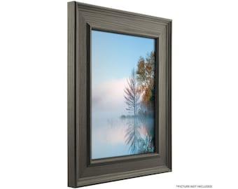 "Craig Frames, 24x30 Inch Gray Oak Barnwood Picture Frame, Revival 2"" Wide (766589552430)"