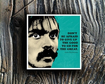 Steve Prefontaine Quote Pre Pop Art 11x11 Limited Edition Poster Print
