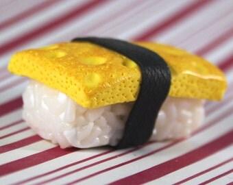 tamago sushi magnet kawaii polymer clay charms miniature food jewelry polymer clay food magnet japanese magnet japan magnet japanese food