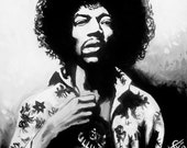 Jimi Hendrix - Black and White