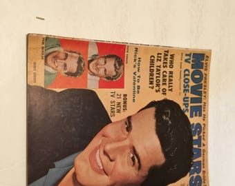 january 1959 movie stars tv close ups magazine