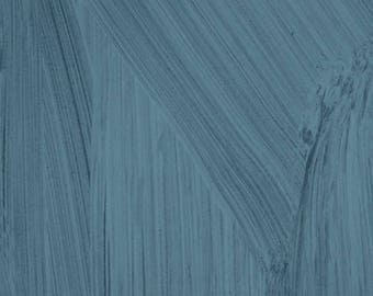 Dreamer by Carrie Bloomston for Windham Fabrics - Textured Solid - Ocean Blue - 1/2 Yard Cotton Quilt Fabric 417