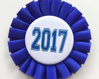Class of 2017 Pin - Graduation - Party pin