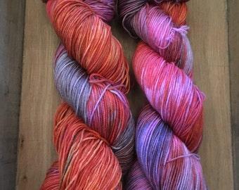Sox - 75/25 superwash merino/nylon - Variegated yarn - Colorful