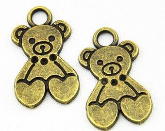 8 - Teddy bear charms
