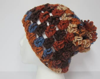 Slouchy for Women, Sienna Slouchy Hat, Slouchy Hats, Slouchy Beanies, Beanie with Pom, Womans Slouchy, Earthy Beanies, Sienna Beanies