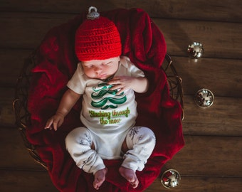 Crocheted Christmas Ornament Hat in Baby, Infant, Toddler, Child Sizes
