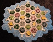 Hand Designed, Crafted, and Painted 3D Settlers of Catan Tiles Check out this listing to find the best Catan option that suits your needs!