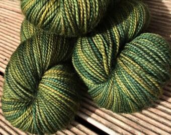 Cicada hand dyed Australian 4ply sock yarn