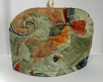 Modern Impressionist - Quilted Dome Tea Cozy with Trivet