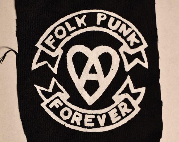 Folk Punk Forever - Punk Patch