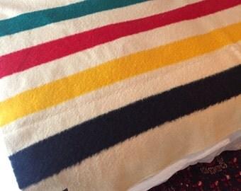 Vintage original Trapper Point Wool blanket