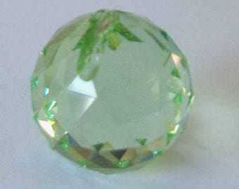 1 SWAROVSKI 8558 Strass Crystal Ball Prism 20mm PERIDOT