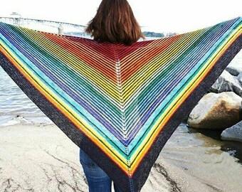 Daydream Believer Shawl yarn and pattern