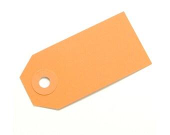 Orange Parcel Gift Tags