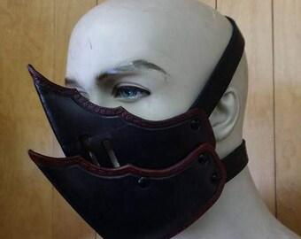 Leather Armor Dark Elf Molded Mask