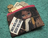 Evangeline Blythe Custom Full Color Printed 2 Sided Coin Purse Womans March 2017 Tribute