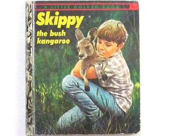 Skippy The Bush Kangaroo A Little Golden Book