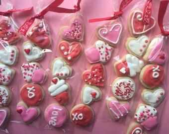 Mini Valentine's Day Cookie Favors (5 Dozen)