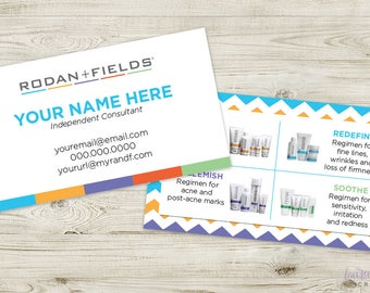 DIGITAL Rodan + Fields Classic Business Card CUSTOMIZABLE