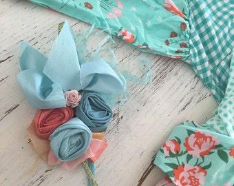 Baby Girl Headband- matilda jane heaband- m2m Joanna Gaines Matilda Jane- Flower Girl Headband