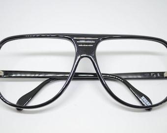 Vintage Black Zeiss frames made in West Germany