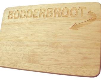 Bread cutting board breakfast breakfast Bodderbroot in - board - engraving