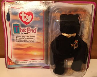 The End, McDonald promo Beanie Baby.