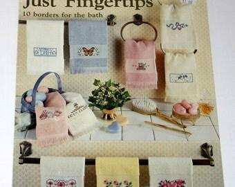 Just Fingertips, Leisure Arts, Pattern Leaflet #485, 1986
