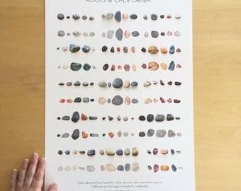Rocks of California Print