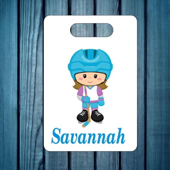backpack tag, girls baseball tag, gym bag tag, lunch box tag, sports tag, custom tag, girls tag, personalized tag