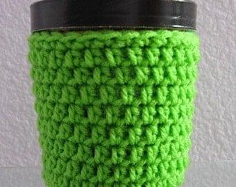 Ice Cream Cozy Pint Cover Crocheted Yogurt Coaster - Pick a Color