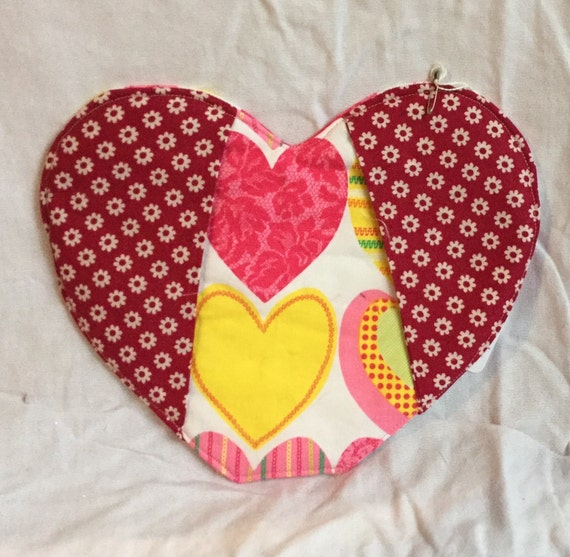Heart Oven Mitt/pot holder