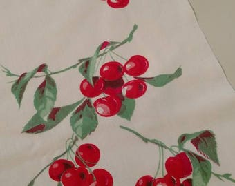 Sweet cherries tablecloth