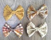 November Cloth Bow Set (also individually sold)